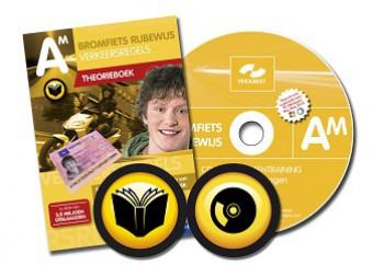 Bromfiets theorieboek + CD-ROM met 10 examens