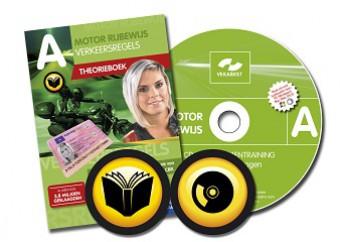 Motor theorieboek + CD-ROM met 10 examens