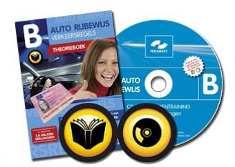 Auto theorieboek + CD-ROM met 10 examens