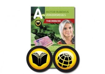 Motor theorieboek + 10 online oefenexamens