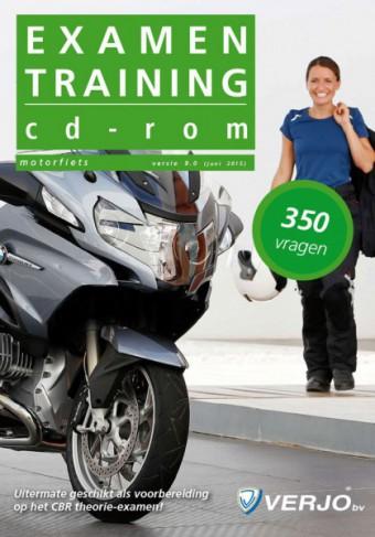 Examentraining cd-rom motorfiets